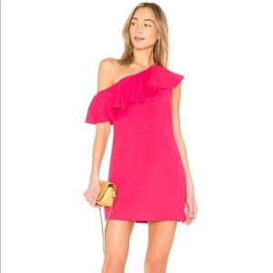 Joie bronwen ruffle dress in hacienda  Size 0 NWT